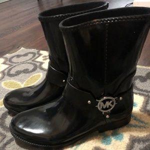 Michael Kors rain boots. Perfect condition!